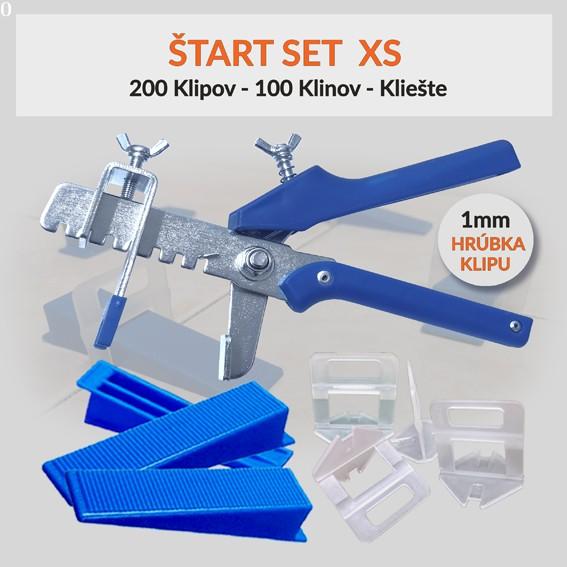Nivelačný štartovací set Eko XS 1 mm, 1 kus