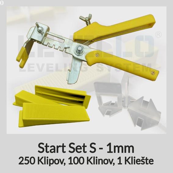 Nivelačný štartovací set Klasik S 1 mm, 1 kus