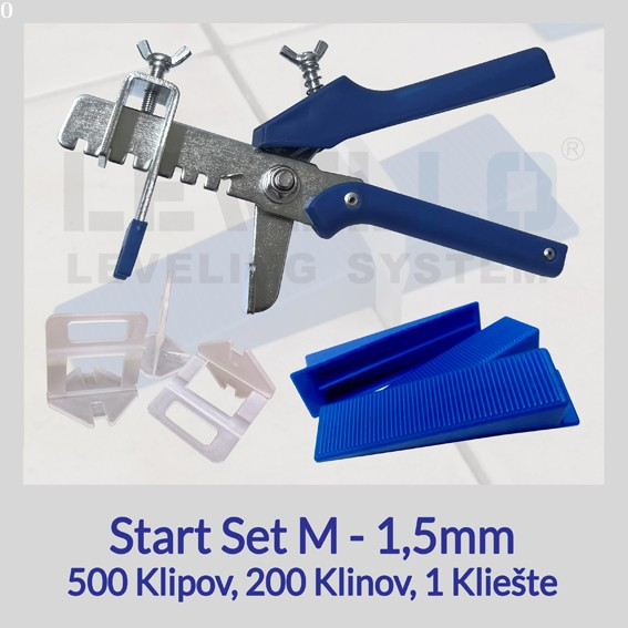 Štart set Eko LEVELLO ® M 1,5 mm, 1 kus