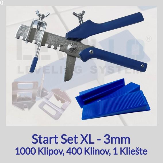 Nivelačný štartovací set Eko XL 3 mm, 1 kus