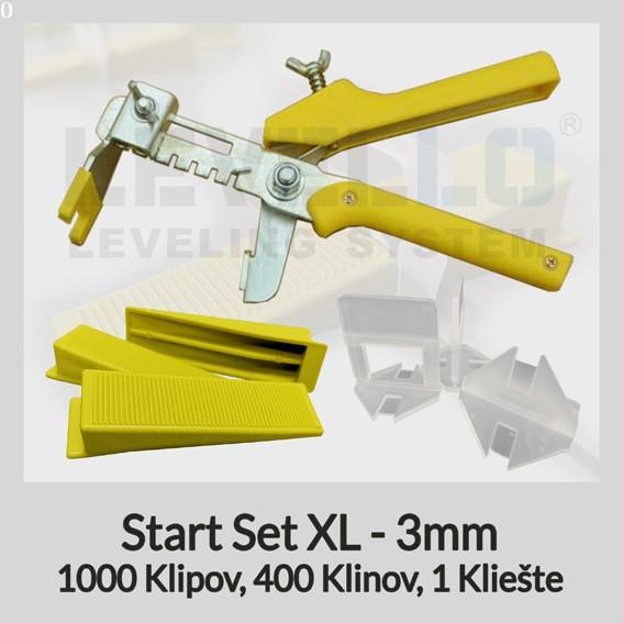 Nivelačný štartovací set Klasik XL 3 mm, 1 kus